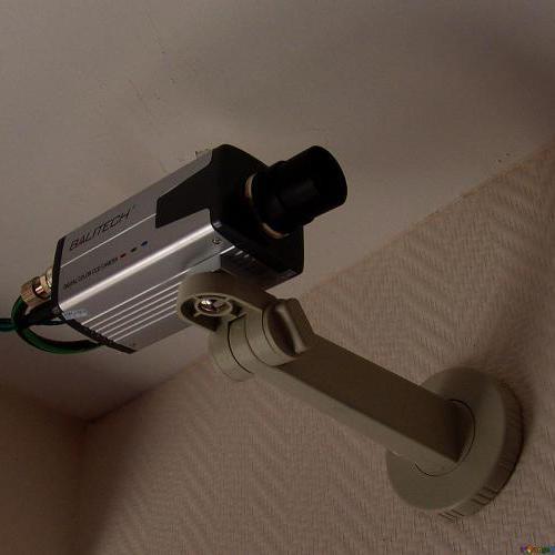 vidéo surveillance intérieure